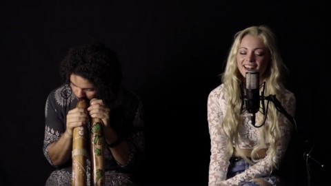 Katja – Ride The Wave – LIVE Didgeridoo Acoustic