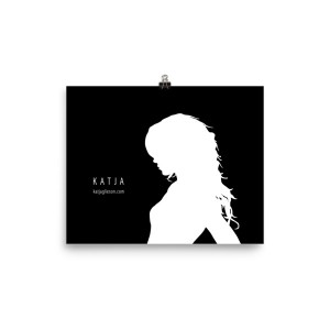 Katja Silhouette | Poster