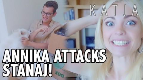 ANNIKA ATTACKS STANAJ! | Katja Glieson, Stanaj, Amanda Cerny