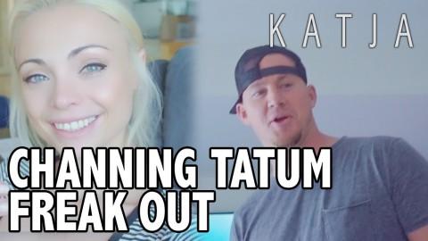 "CHANNING TATUM + WATCH ME FREAK OUT FOR ""COME THRU"" COUNTDOWN! | Katja Glieson"