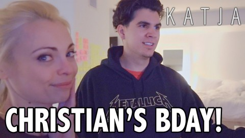 CHRISTIAN DELGROSSO'S BIRTHDAY SECRET! | w Amanda Cerny, Johannes