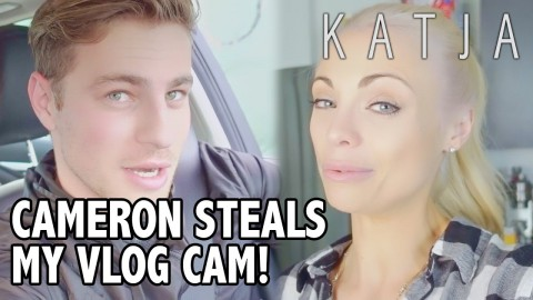 HE STEALS IT! | Katja Glieson w Cameron Fuller