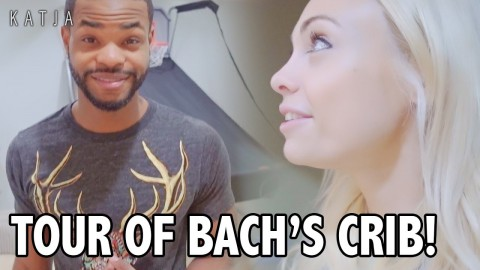 INSIDE BACHELOR'S PAD! | Katja Glieson w King Bach, Hunter Hill