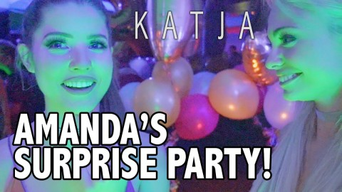 SURPRISE! I MADE HER CRY!! w AMANDA CERNY, JAKE PAUL, ERIKA COSTELL, KING BACH