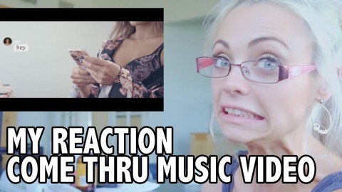 Official Music Video 'Come Thru' Jake Paul Erika Costell – Reaction Video! | Katja Glieson