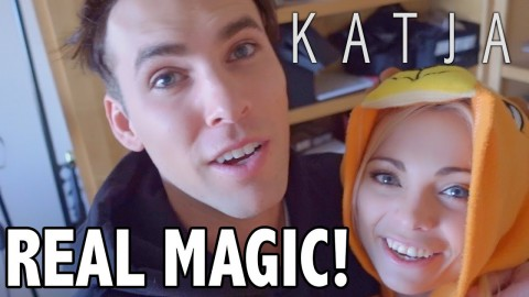 WE MADE REAL MAGIC! w Tristan Tales | Katja Glieson