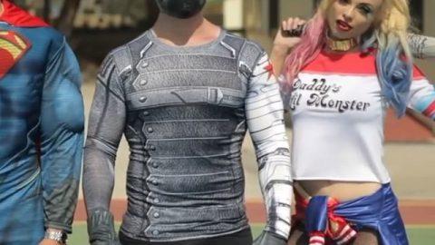 "VIDEO: or ?😈 (full video & credits ""Superhero"