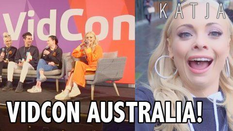 VIDCON AUSTRALIA! | Katja Glieson